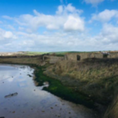 Lost village of Tide Mills. Seaford East Sussex. Free seaside fun for the whole family