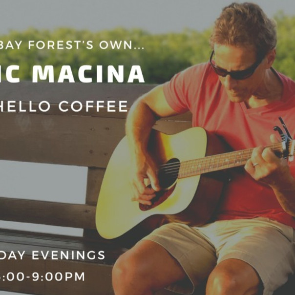 Live Music Nights, Featuring Vic Macina