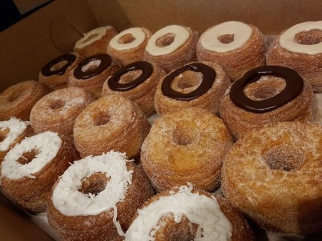 Variety of Cronuts