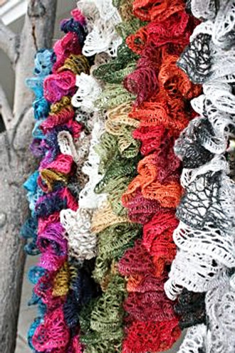 Patterned crochet Scarves