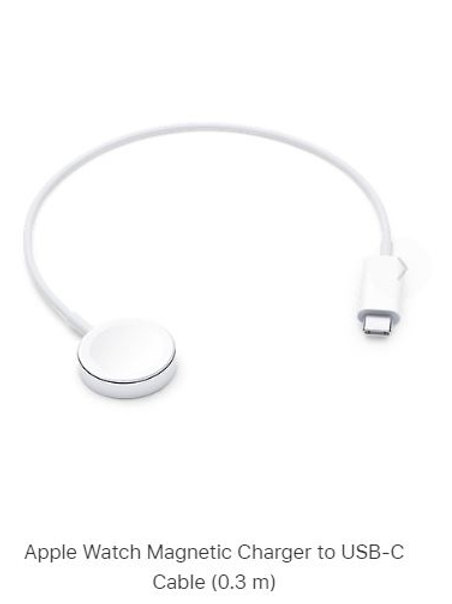 Apple Watch Magnetic Charger to USB-C Cable (0. m)
