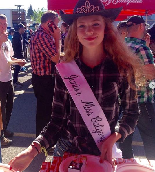 Jr Miss Calgary Stampede