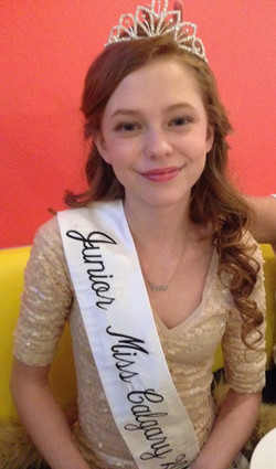 Jr Miss Calgary 2018