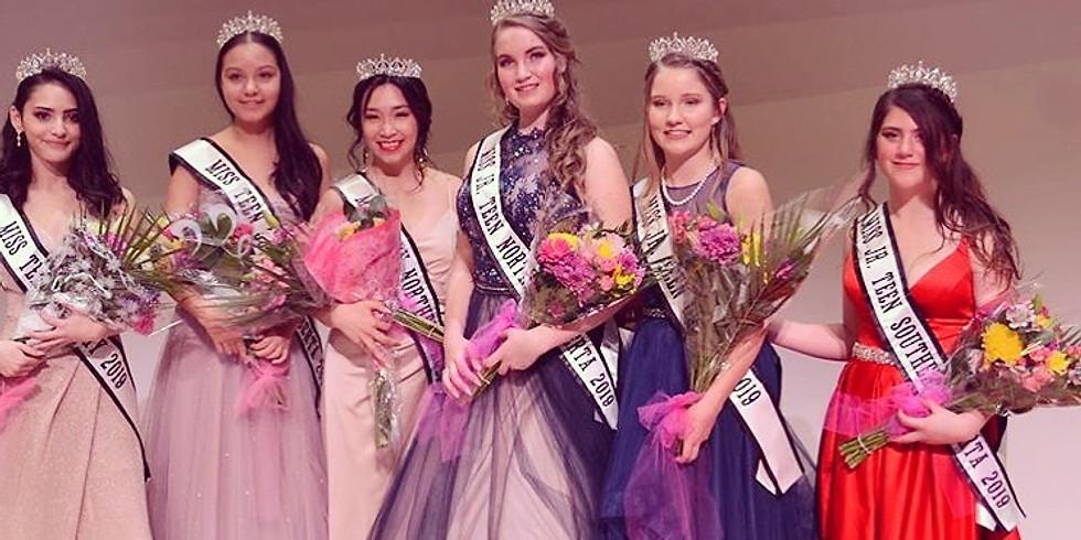 Calgary Pageants 2020 (Jr. Teen, Teen, Miss, Ms. & Mrs.)