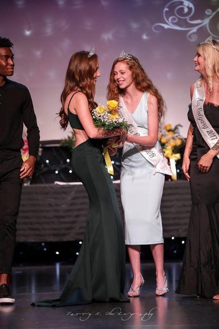 Jr Miss Calgary Crowning