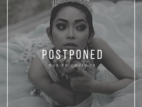 Postponed due to COVID-19