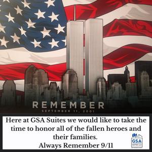 GSA Suites Always remember 9/11