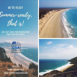 GSA Suites Summer Flyer