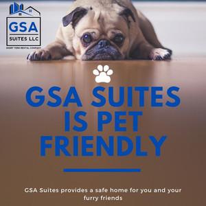 GSA Suites is Pet Friendly