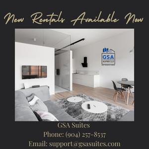 GSA Suites Rentals Available