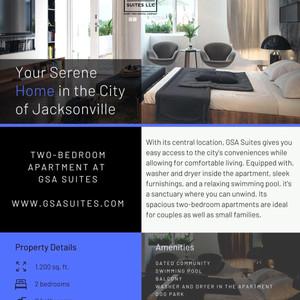 GSA Suites Flyer