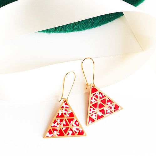 Christmas Infinity Triangles