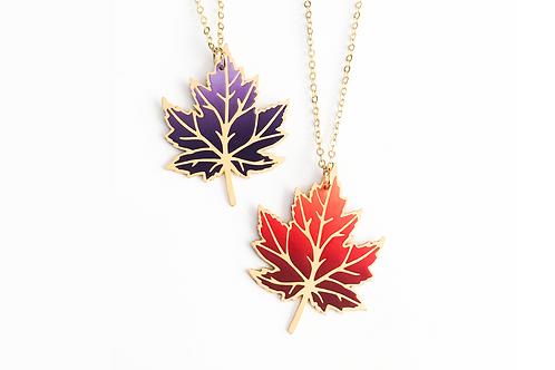 Falling Maple