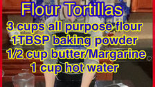 Kosher Flour Tortillas