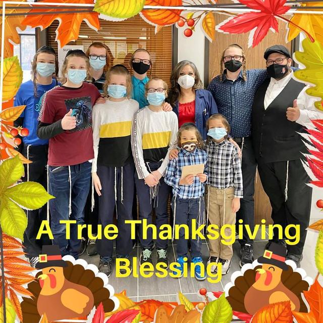 A True Thanksgiving Blessing!!!
