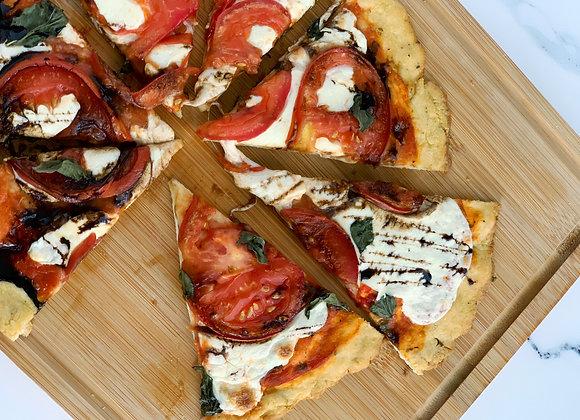 Caprese Pizza with Balsamic Glaze (video + pdf)