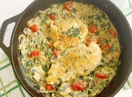 Dairy-Free Tuscan Chicken (Whole30!)