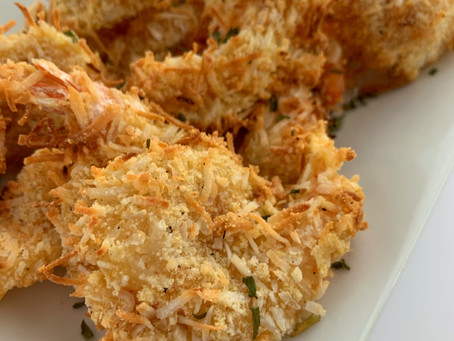 Air-Fried Coconut Shrimp