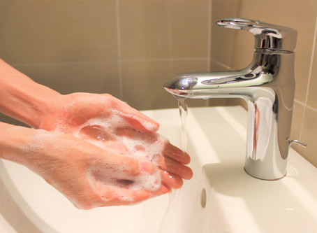 Keep your hands clean to help prevent the virus