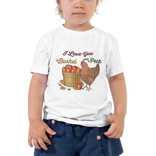 Bushel and a Peck Toddler Tee