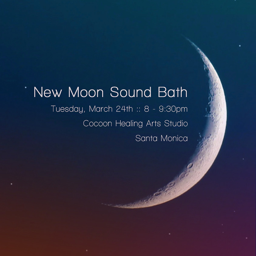 Canceled - New Moon Sound Bath