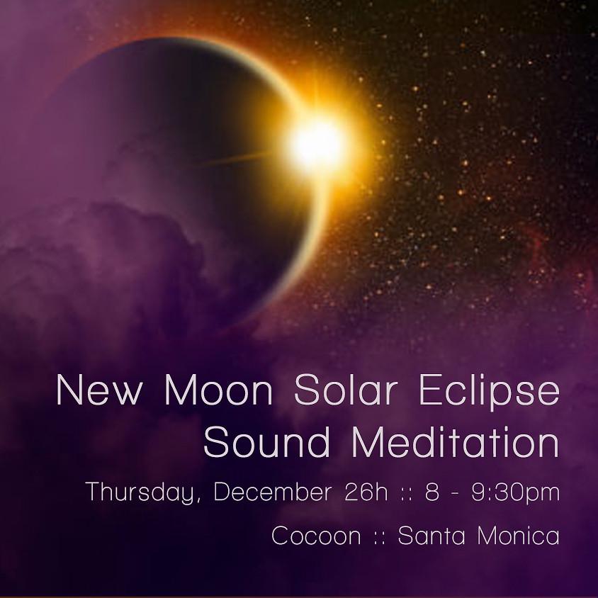 New Moon Solar Eclipse Sound Bath