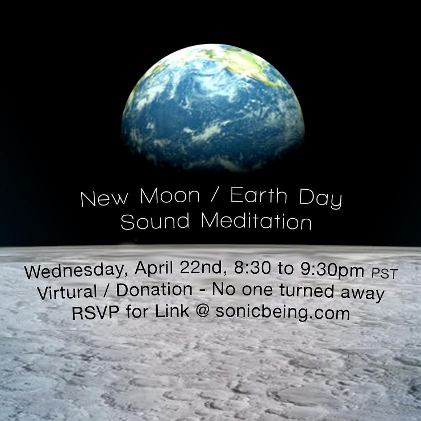 New Moon / Earth Day Sound Bath