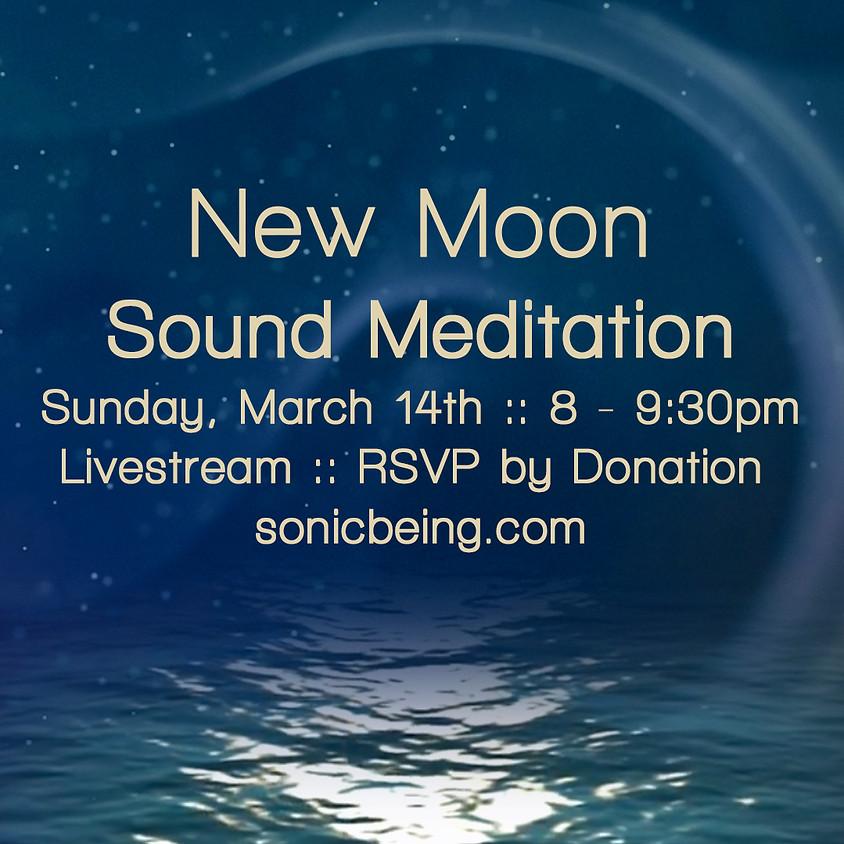 Livestream New Moon Sound Meditation