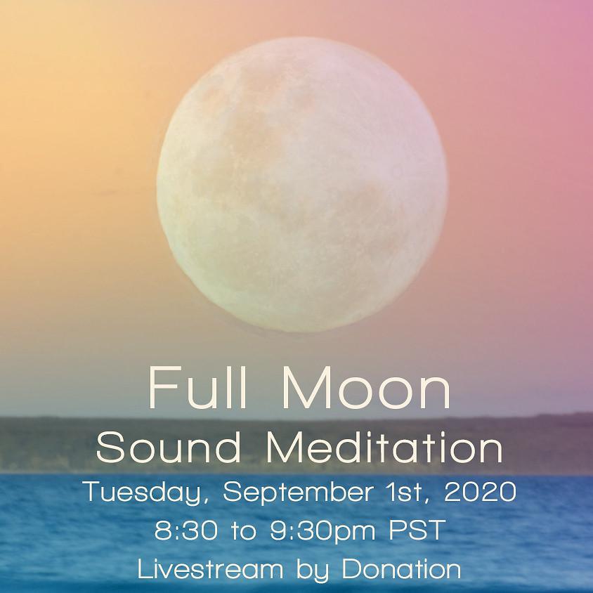 Livestream Full Moon Sound Bath