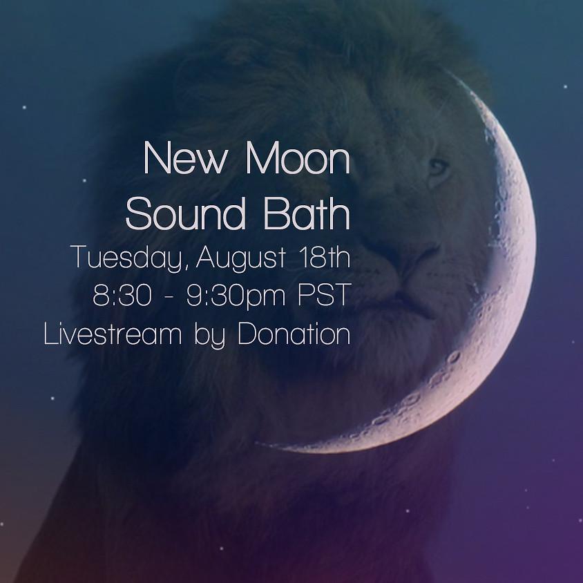 New Moon Livestream Sound Bath