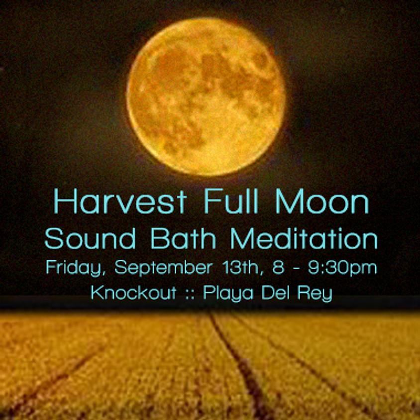 Harvest Full Moon Sound Bath