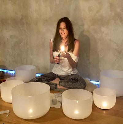 Michelle Berc at Yogaraj