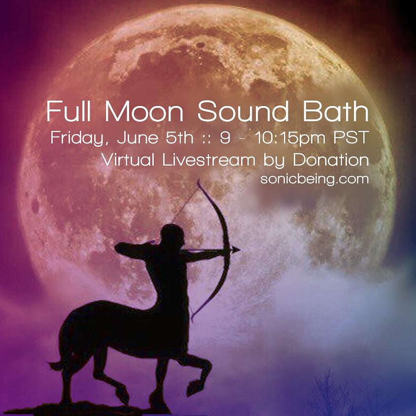 Full Moon Sound Bath Livestream
