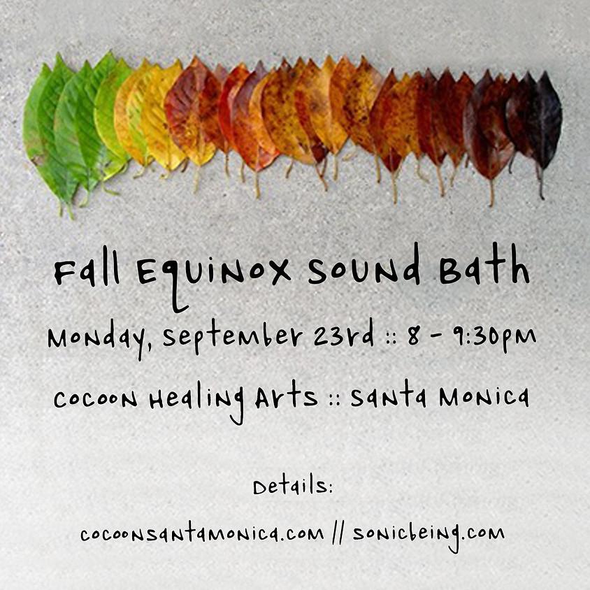 Fall Equinox Sound Bath