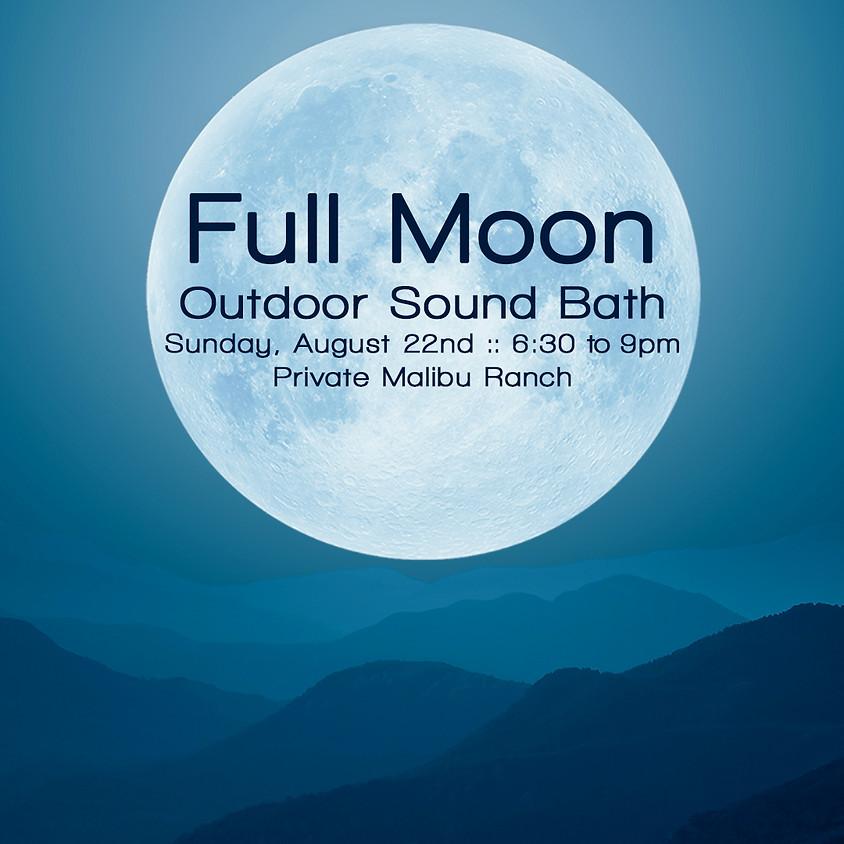 Full Moon Outdoor Sound Bath