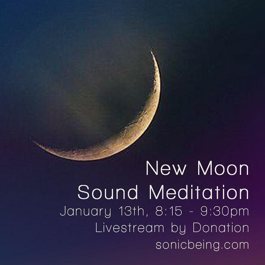 Livestream - New Moon Sound Meditation