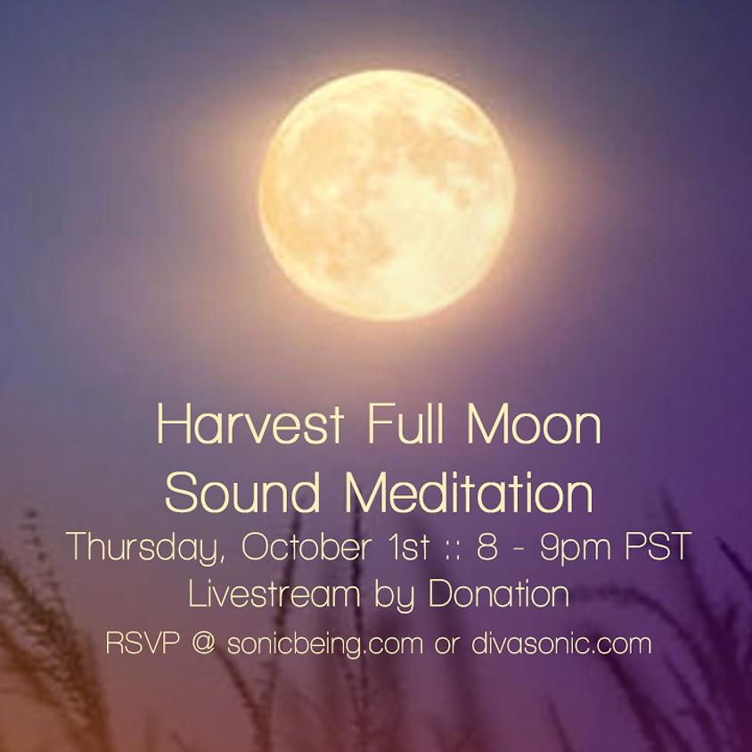 Livestream Full Moon Sound Meditation