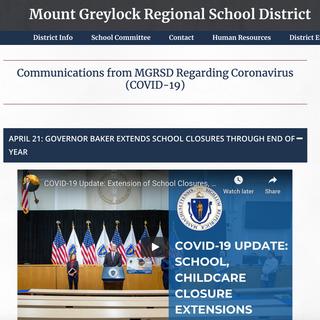 Mount Greylock School