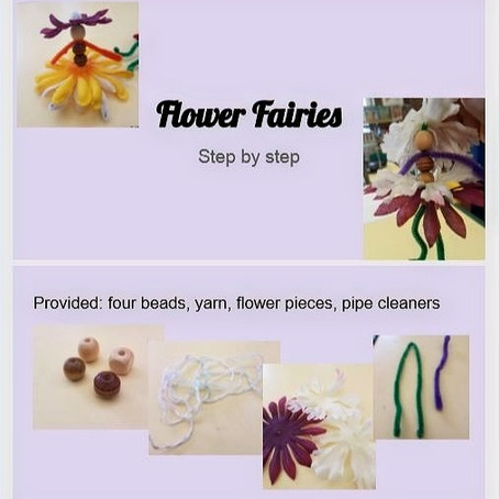 Flower Fairies - Craft Project for Kids!