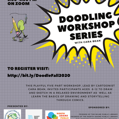 Online Doodling Workshop!