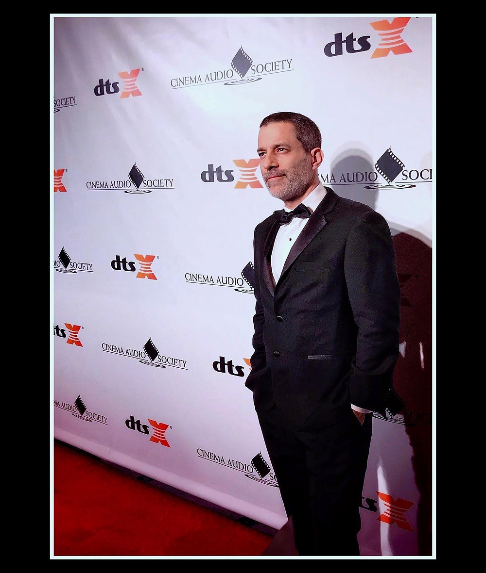Eric at the 2020 CAS Awards in Los Angeles