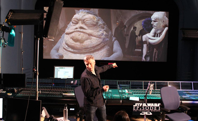 Eric invited to work at Skywalker Sound!