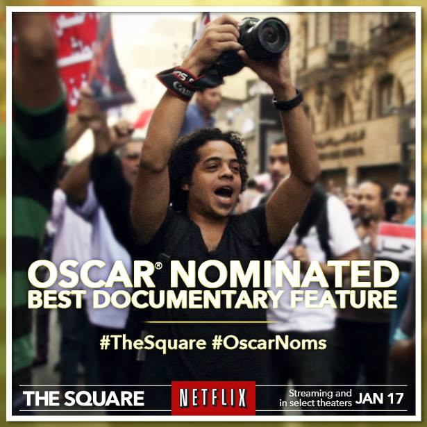 THE SQUARE gets a 2014 Oscar nom