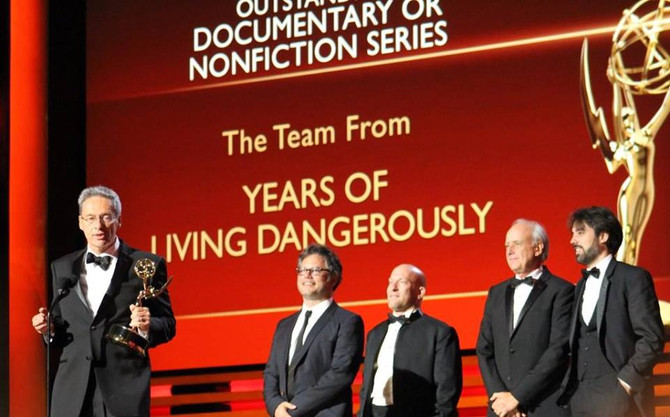YEARS OF LIVING DANGEROUSLY WINS 2014 BEST DOC EMMY!