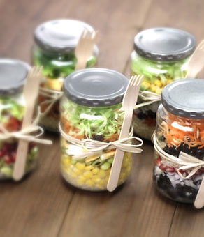 Salad in a Jar - Commercial kitchen for rent in San Diego