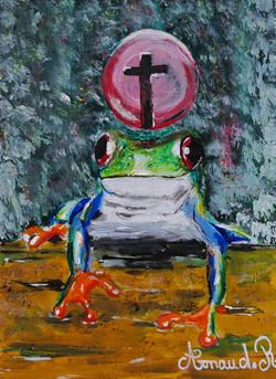 """Fapâtes la grenouille"""