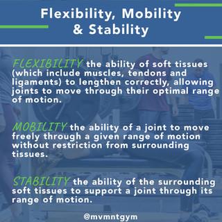 MVMNT_Flexibility, Mobility & Stability.