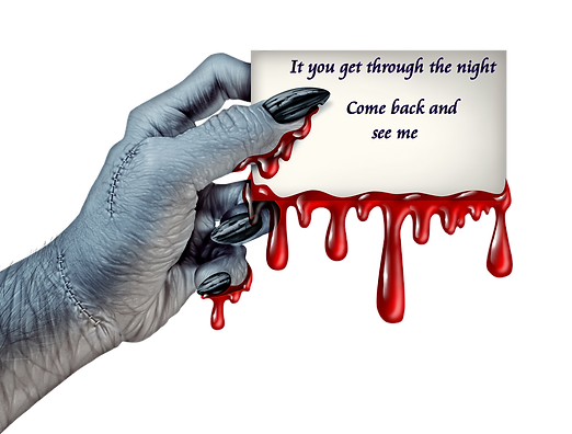 zombie hand with letter.png