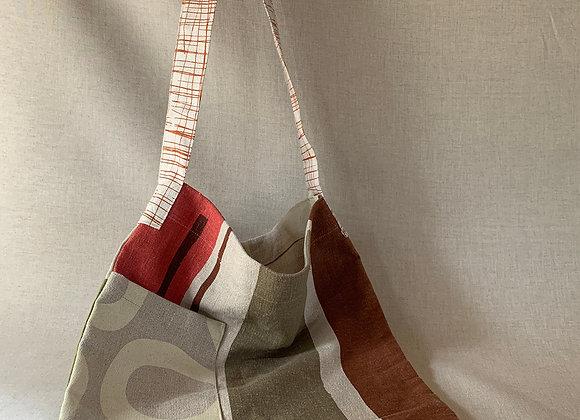 Useful Shoulder Bag in hemp