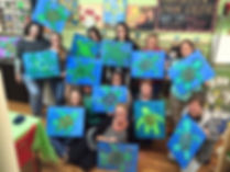 Step by Step Painting Class